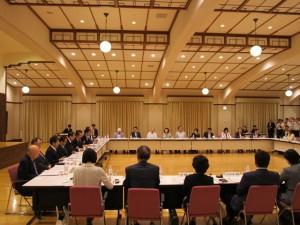 教育再生実行会議と中央教育審議会との意見交換会(2015.5.26)